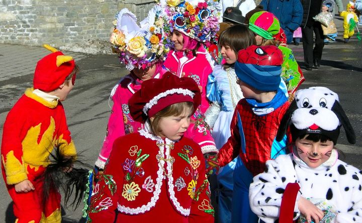 Photo: Carneval de Viareggio  enfants